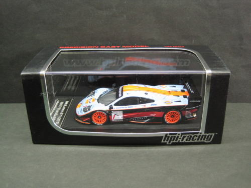 1/43 エイチピーアイ hpi racing McLaren F1 GTR #1 1997 Suzuka マクラーレン 鈴鹿 ミニカー
