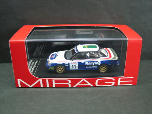 1/43 エイチピーアイ HPI RACING SUBARU LEGACY RS #11 1991 RAC スバル レガシー ミニカー