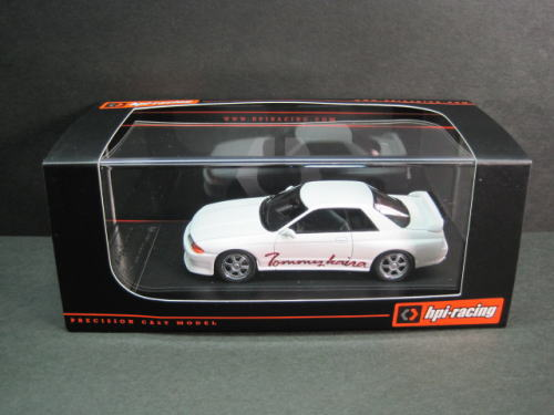 1/43 エイチピーアイ hpi・racing Tommykaira R R32 Whiteトミーカイラ ミニカー