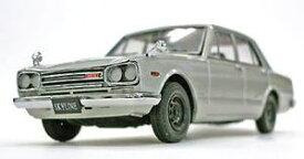 1/43 京商 Kyosho Nissan Skyline 2000 GT-R 4 doors 1969 PGC10 Standard wheel rim Silver 日産 スカイライン 4ドア スタンダード ホイール 前期型 エンジン付 ミニカー