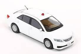 1/43 レイズ RAI'S トヨタ アリオン A20 ZRT261 2011 警察本部刑事部 捜査車両 (白) Toyota Allion ミニカー