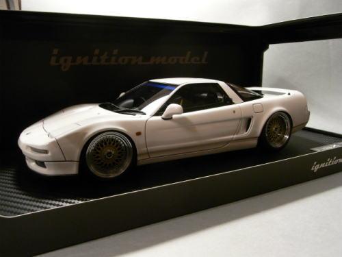 1/18 イグニッションモデル ignition model Honda NSX (NA1)1990 White ホンダ ミニカー