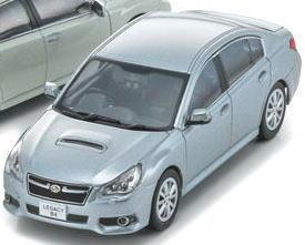 1/43 京商 Kyosho Subaru Legacy B4 Silver スバル レガシィ ミニカー