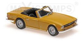 1/43 MAXICHAMPS マキシチャンプス Triumph TR6 1968 Orange トライアンフ ミニカー