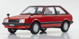 1/18 京商 KYOSHO マツダ ファミリア Mazda Familia Red ミニカー