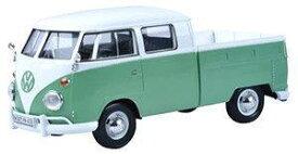 1/24 モーターマックス Motor Max Volkswagen Type2 T1 Double Cab Pickup フォルクスワーゲン タイプ2 ダブルキャブ ピックアップ ミニカー
