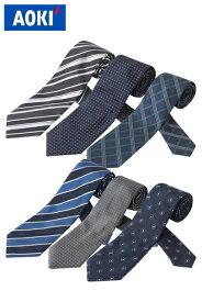 AOKI 5,000円 ネクタイ 3点セット ビジネス 洗える ウォッシャブル【おすすめ】