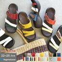 リゲッタ カヌー レディース サンダル CJEG5223 CJEG5224 3ベルト エッグヒール 歩きやすい 履きやすい かわいい 甲高…