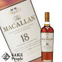 ザ・マッカラン 18年 700ml 43度 スコッチ [ウイスキー]