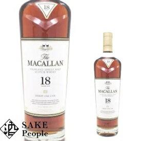 ザ・マッカラン 18年 700ml 43度 スコッチ ボトルのみ ウイスキー