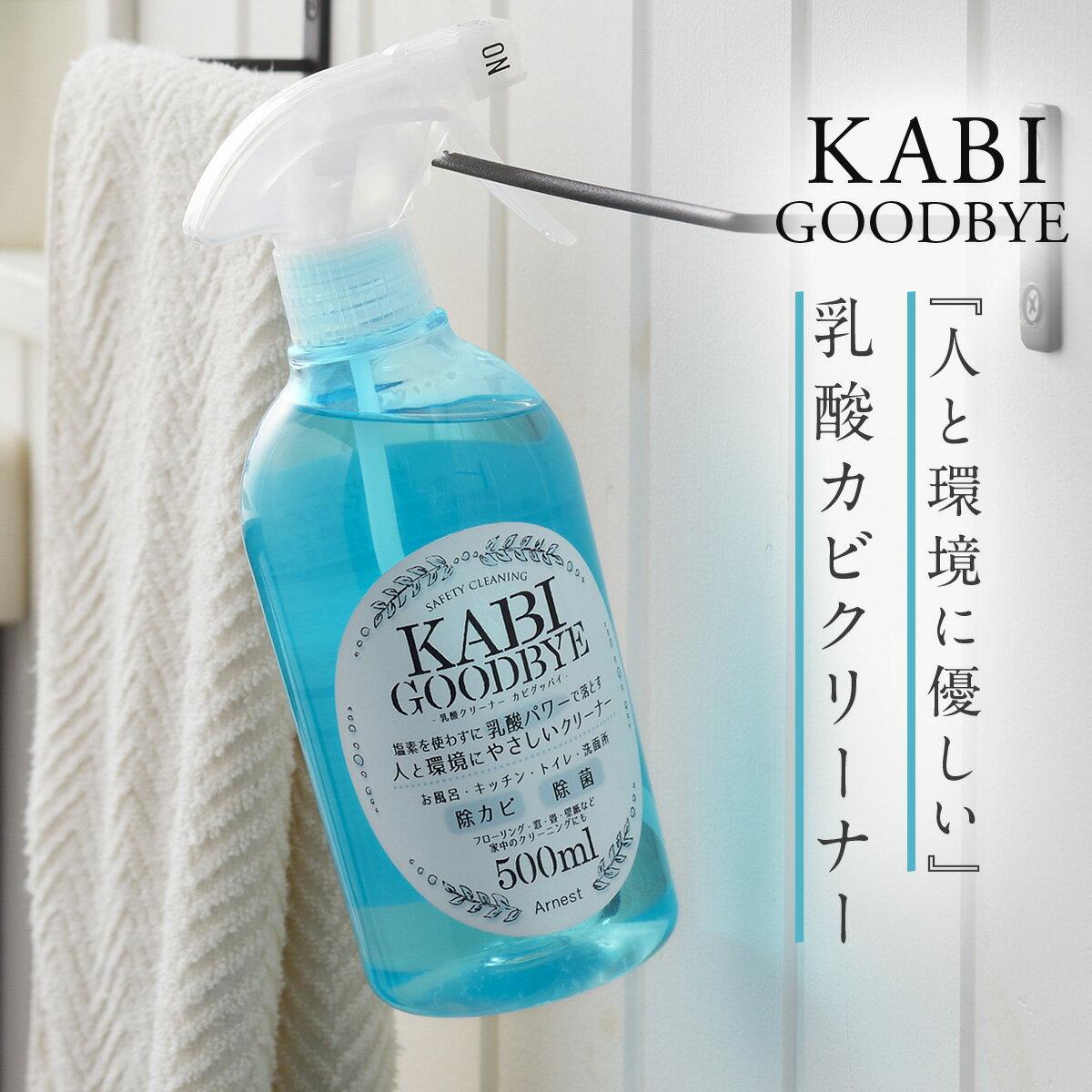 カビ取り カビ防止 お風呂 水回り 天然成分 乳酸クリーナー カビグッバイ 500ml アイデア 便利