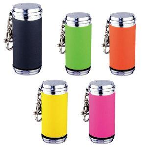 携帯灰皿 おしゃれ ポップ 灰皿 キーホルダー アッシュシリンダー シリコンチューブ巻き ギフト プレゼント 贈り物 USBライター メンズ Men's おしゃれ