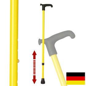 杖ステッキドイツ製リハビリ用ステッキ(イエロー)OS4