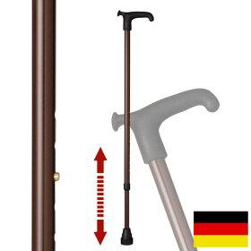 杖ステッキドイツ製リハビリ用ステッキ(ブラウン)OS6