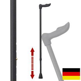 杖ステッキドイツ製リハビリ用ステッキ(フィッシャー左手用レザーブラック)FG3L