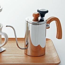 コーヒーポット ドリップケトル ホームメイドカフェ ドリップポット(温度計付)51436 コーヒーグッズ特集 ギフト プレゼント 贈り物