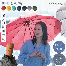 傘 名入れ 対応 名前彫刻 ネーム入れ 傘 名入れ レディース おしゃれ 12本骨折りたたみ傘 江戸 ギフト プレゼント 贈り物