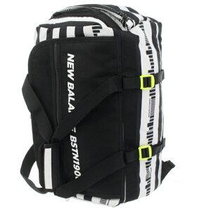 ニューバランス 2WAYボストンバッグ (0120281006) 肩掛け、リュックと2WAYでの使用が可能 メンズ ゴルフ ボストンバッグ ホワイト New Balance