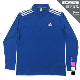 アディダス ゴルフ 長袖シャツ ゴルフ5限定 スリーストライプス L/Sシャツ メンズ (27470) adidas
