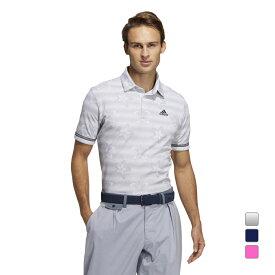 アディダス ゴルフウェア AEROREADY フラワープリント 半袖シャツ (23088) リサイクルポリエステル メンズ adidas