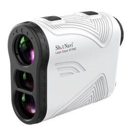 ショットナビ レーザースナイパー X1 Fit2 1000 ホワイト (SNX1F2WH) 超軽量 超コンパクト バイブレーション付 ゴルフ 距離測定器 距離 Shot Navi
