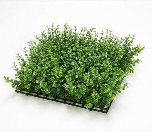 《 造花 グリーン マット 》◆とりよせ品◆花びし ユーカリマット グリーン壁 貼り付け