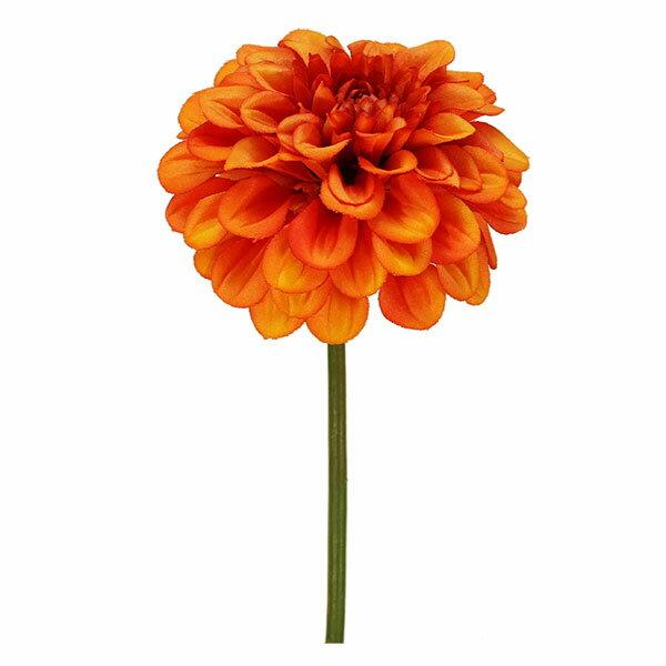 《 造花 》Parer/パレ ジニアピック オレンジ インテリア インテリアフラワー