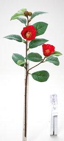《 造花 》Parer/パレ 椿スプレー レッド 和 ツバキ カメリア