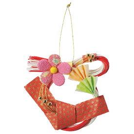 《 お正月飾り 》Asca/アスカ ちりめん梅の壁飾り 新年 新春 迎春