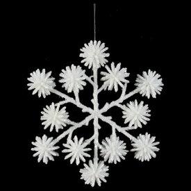 《 クリスマス スノーフレーク オーナメント 雪 結晶 》Asca/アスカ パインコーンスノーフレーク インテリア