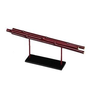 《 正月 花器 ベース 》◆とりよせ品◆Parer 竹アレンジスタンド 赤 ベース 花器