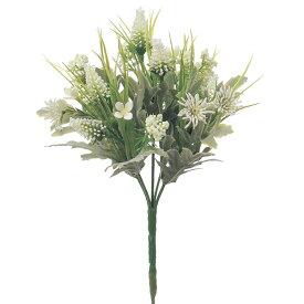 《 造花 》◆とりよせ品◆Asca ☆ミックスフラワーブッシュ ホワイトインテリア