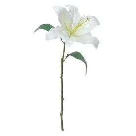 《 造花 》◆とりよせ品◆Asca カサブランカ ホワイトインテリア インテリアフラワー