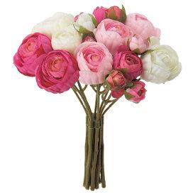 《 造花 》◆とりよせ品◆Asca ☆ラナンキュラスバンチ×14 つぼみ×4 (1束10本)インテリア