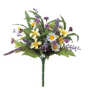 《 造花 》◆とりよせ品◆Asca(アスカ) ラベンダーミックスブッシュ ラベンダーハーブ