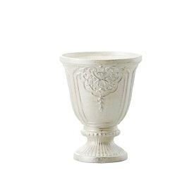 《 陶器 ベース 》Clay/クレイ Victorian (ビクトリアン) PEARL WHITE 1箱(1点入り)