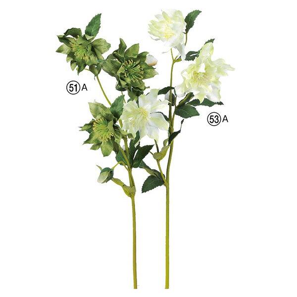 《 造花 》Asca/アスカ クリスマスローズ×3 つぼみ×4ヘレボラス ニゲル
