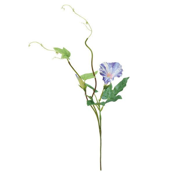 《 造花 》Asca/アスカ アサガオピック×1 つぼみ×1インテリア インテリアフラワー