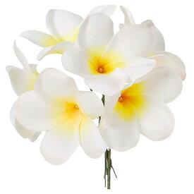 《 造花 》◆とりよせ品◆Asca ☆プルメリアピック (1束6本)レイ ハワイ