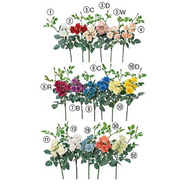 《 造花 》◆とりよせ品◆Asca ☆ローズピック×7インテリア インテリアフラワー