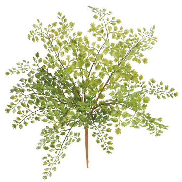《 造花 グリーン 》Viva/ビバ アジアンタムブッシュ インテリア フェイク グリーン