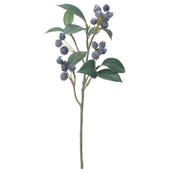 《 造花 グリーン 実 》Asca/アスカ ブルーベリー ダークパープルインテリア フェイク