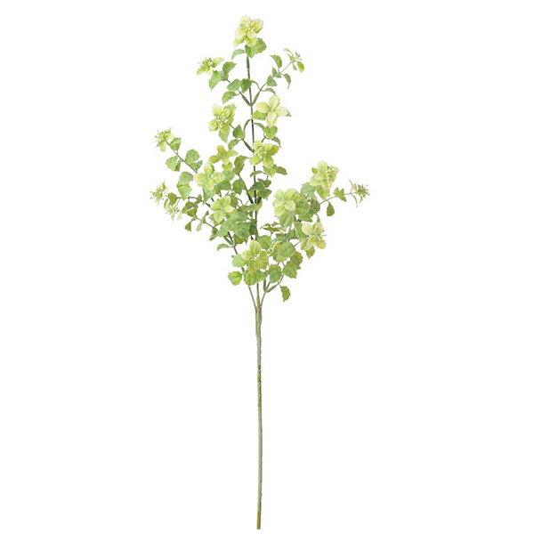 《 造花 グリーン 実 》Asca/アスカ ボックスウッドベリースプレー クリームグリーンインテリア