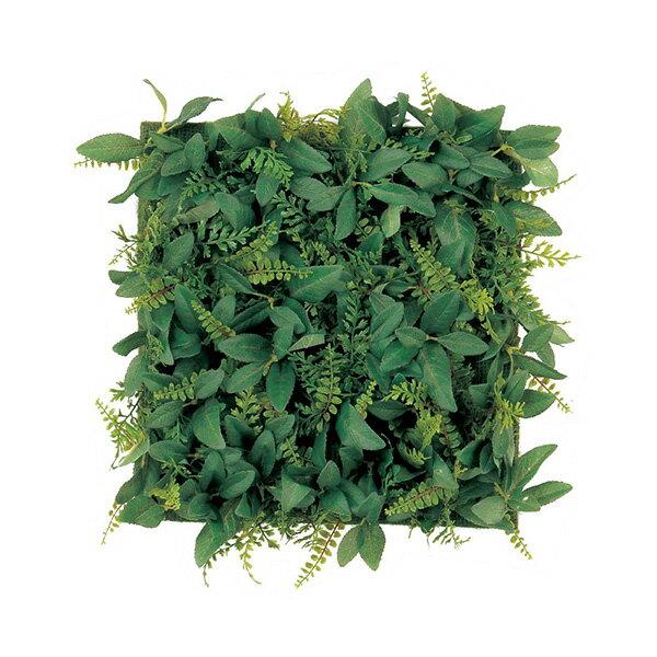 《 造花 グリーン マット 》Asca/アスカ オレガノ&パセリファーンマット グリーン壁