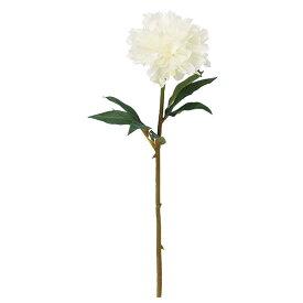 《 造花 》Asca/アスカ ピオニー ホワイトグリーンボタン 牡丹