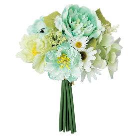 《 造花 》◆とりよせ品◆Asca ミックスフラワーブーケ ミントインテリア インテリアフラワー