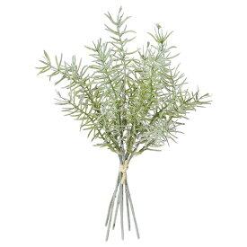 《 造花 グリーン 》◆とりよせ品◆Asca ロ-ズマリ-バンチ(1束6本) フロストグリーンインテリア