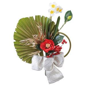 《 お正月飾り 》◆とりよせ品◆Asca(アスカ) アレンジブーケ(紅椿と水仙) しめ縄