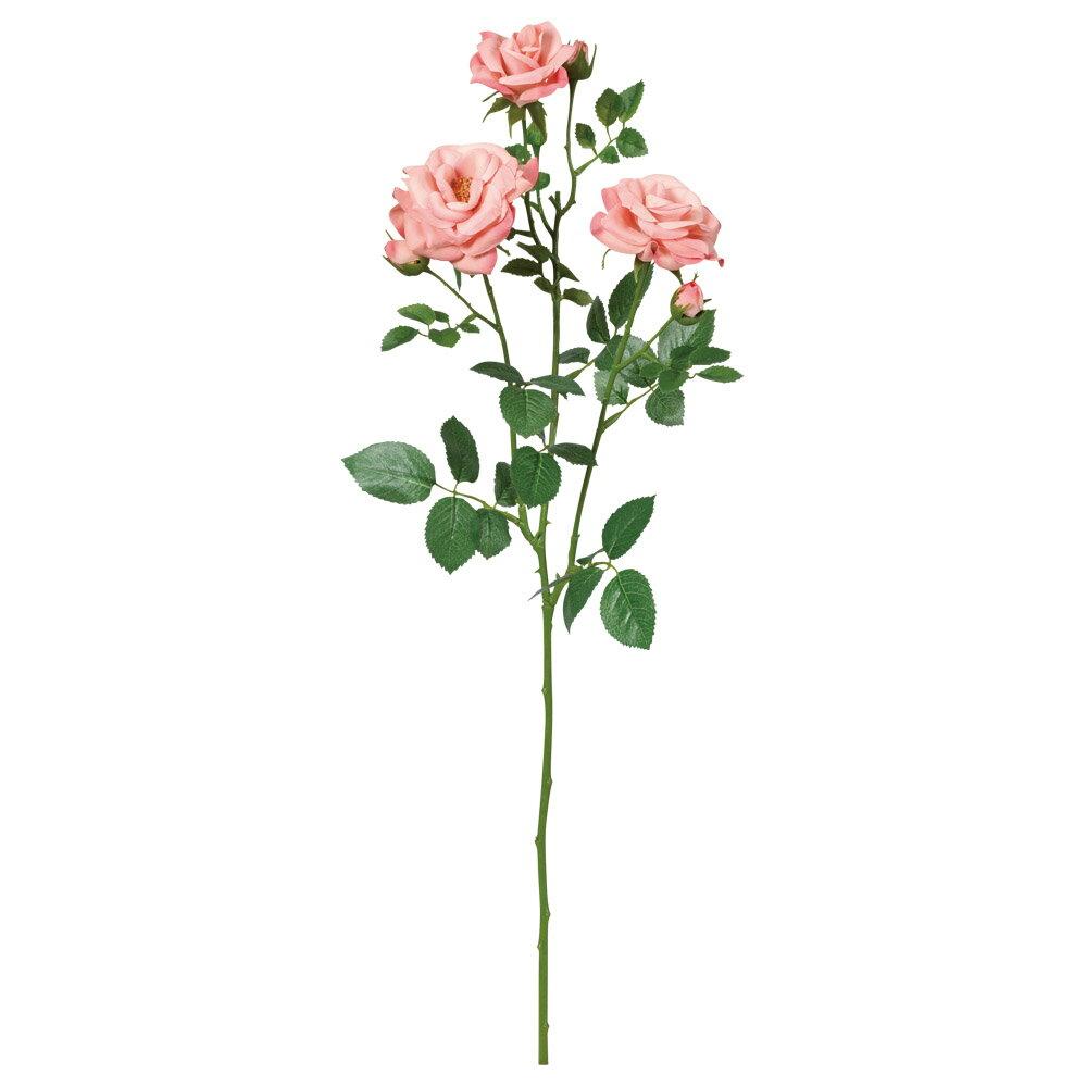 《 造花 》Asca/アスカ ファリネローズ×3 つぼみ×4インテリア インテリアフラワー