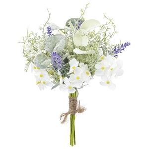 《 造花 》◆とりよせ品◆Asca(アスカ) ラベンダーミックスブーケ ラベンダ-ハーブ